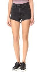 Rag And Bone Jean Justine Shorts Washed Black