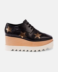Stella Mccartney Gold Silver Stars Elyse Shoes