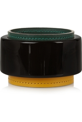 Marni Resin And Leather Bangle