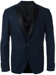 Tonello One Button Blazer Blue