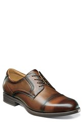 Florsheim Men's 'Midtown' Cap Toe Derby Cognac Leather