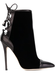 Brian Atwood 'Norma' Ankle Boots Black