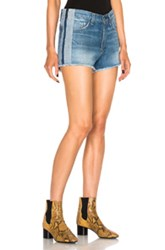 Rag And Bone Jean Marilyn Short In Blue
