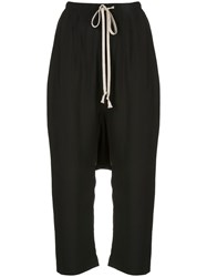 Rick Owens Drawstring Drop Crotch Trousers 60