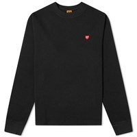 Human Made Long Sleeve Thermal Tee Black