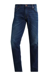 Wrangler Greensboro Straight Leg Jeans Darkblue Denim Lightblue Denim Dark Blue Denim