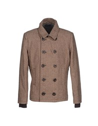 Red Soul Coats And Jackets Coats Men Dark Brown