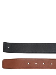 Ettore Bugatti Collection 30Mm Reversible Leather Belt