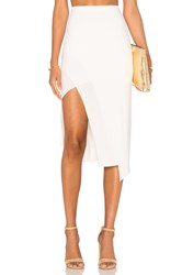 Lovers Friends Bridgette Midi Skirt White