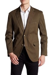 Kroon Two Button Notch Lapel Jacket Beige