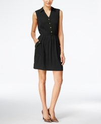 Alfani A Line Shirtdress Only At Macy's Deep Black