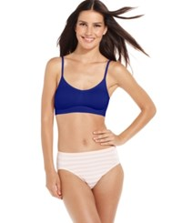 Jockey Seamless Crop Top Bra 2404 Just Past Midnight