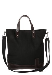 Kiomi Tote Bag Black Dark Brown