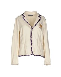 Ralph Lauren Suits And Jackets Blazers Women Ivory