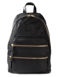 Marc By Marc Jacobs Zip Detail Backpack Black