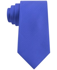 Geoffrey Beene Bias Stripe Solid Tie Royal Blue