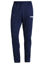 Hummel Core Tracksuit Bottoms Marine Blue