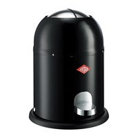 Wesco Single Master Bathroom Bin Black