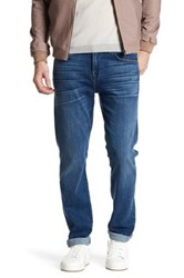 7 For All Mankind The Straight Leg Luxe Performance Jean Blue