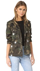 Jocelyn Camo Jacket Green Camo