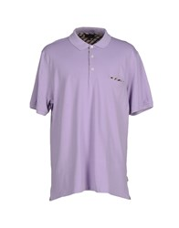 Daks London Polo Shirts Lilac