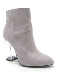 Qupid Ranker Ankle Boot Grey