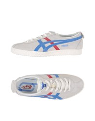 Onitsuka Tiger By Asics Onitsuka Tiger Footwear Low Tops And Trainers Women Light Grey