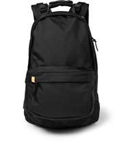Visvim Ballistic Suede Trimmed Cordura Backpack Black
