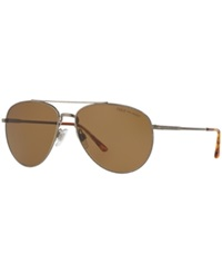 Polo Ralph Lauren Sunglasses Polo Ralph Lauren Ph3094 59 Silver Brown Polar