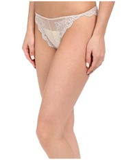 Only Hearts Club So Fine Lace Thong Vintage Women's Underwear Brown