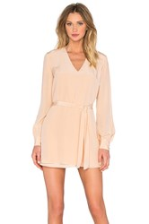 Keepsake High Chance Tunic Dress Blush