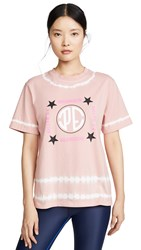 P.E Nation Co Driver Tee Pink Pale
