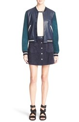 Rag And Bone Women's Rag And Bone 'Alix' Baseball Jacket