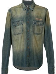 Prps Washed Denim Shirt Blue