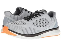 Reebok Print Run Smooth Ultk Cloud Grey Black Polar Blue Wild Orange Men's Running Shoes Gray