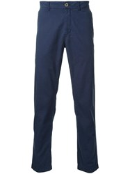 Venroy 'Summer Chino' Trousers Blue