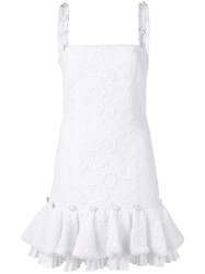 Alexis Richmond Embroidered Dress White