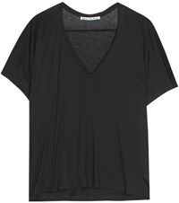 Acne Studios Kileo Jersey Top Black