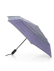 Shedrain Striped Auto Open Folding Umbrella Tippy