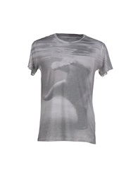 Officina 36 T Shirts Grey