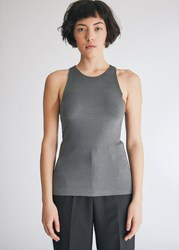 Stelen Mica Tank Top In Charcoal Size Extra Small Spandex