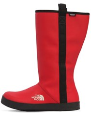 The North Face Base Camp Waterproof Rain Boots Red
