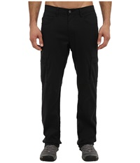 Prana Stretch Zion Lined Pant Black Men's Casual Pants