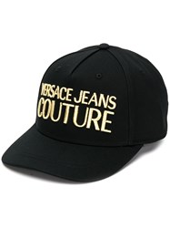 Versace Jeans Couture Embroidered Logo Cotton Cap 60