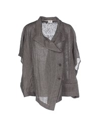 Crea Concept Suits And Jackets Blazers Women Grey