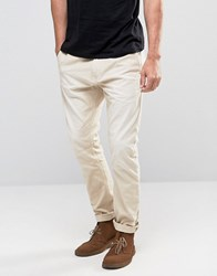 Scotch And Soda Slim Tapered Fit Jeans Cream