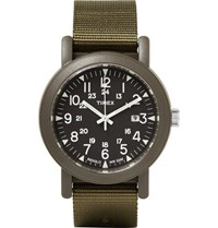 Timex Camper Resin And Grosgrain Watch Unknown