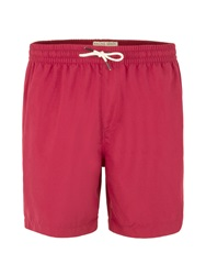 Racing Green Baildon Plain Swim Shorts Dark Pink