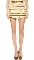 Maison Scotch Summer Skort Yellow Combo