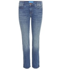 Mih Jeans Paris Cropped Blue